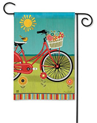 Studio M Summer Ride Garden Flag