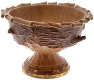 Boston International Decorative Pot or Bowl, Birch