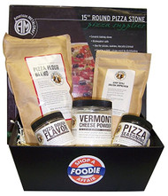 Pizza Stone Gift Basket