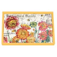 Blooms and Bees Vanity Decoupage Tray