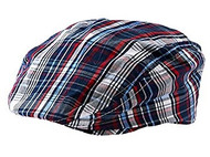 Baby Boys Plaid Golfers Hat (0-12 months)