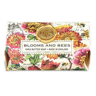 Michel Design Works Blooms and Bees Large Bar Soap