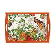 Autumn Harvest Decoupage Tray