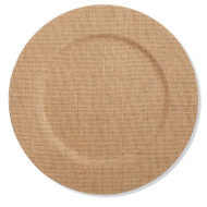 Burlap Plate Chargers - Set of 4