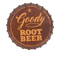 "13.5"" Goody Root Beer Wall Sign"