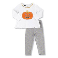 Pumpkin Two Piece Tunic & Legging Set