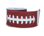 "Football Lace Ribbon 1.5"" wide"