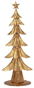 Boston International Gold Foil Decorative Tree, 24-Inch