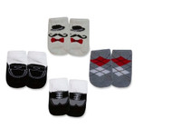 Little Gentleman 4 Piece Sock Set