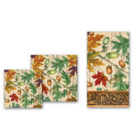 Michel Design Works Fall Leaves Luncheon Paper Napkins