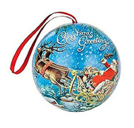 Go Rudolph Mulling Spice Ornament