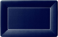 """12"""" Cafe Paper Plate - Navy 1"""
