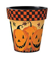 "JackOLantern 15"" Art Pot Planter"