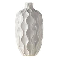 """11"""" White Vase"""