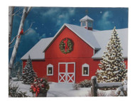 Lighted Barn Print