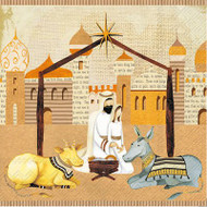 Nativity Luncheon Paper Napkins