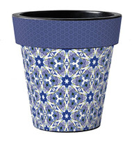 "Studio M Blue Star 18"" Art Pot Planter"