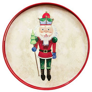 Nutcracker Round Tray