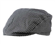 Baby Boys Dark Gray & White Stripe Golfers Hat (12-24 months)