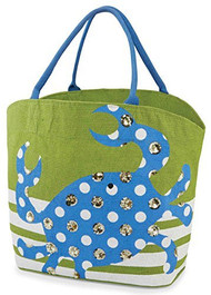 Mud Pie Cabana Crab Tote