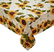 "D.I.D. Sunflower Tablecloth 60"" x 84"""