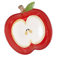 Apple Shaped Pie Plate with Free Dishtowel