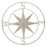 "30"" Cream Compass Star"