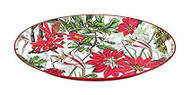 Michel Design Works Holiday Large Metal Tray