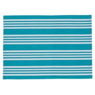 Cozumel Beach Stripe Placemats - Set of 4