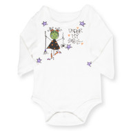 Under My Spell Long Sleeve Onesie- 6-12 months