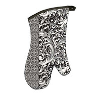 Michel Design Works Black Florentine Oven Mitt