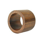 DII Wooden Napkin Ring, Set of 4