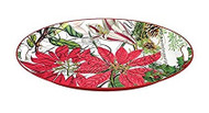 Michel Design Works Holiday Medium Metal Tray