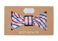 Mud Pie Plaid Toddler Boys Bow Tie