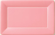 """12"""" Cafe Paper Plate - Soft Pink"""