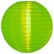 "Apple Green 14"" Nylon Lantern"