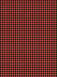Plaid Red Check/Black Check Gift Wrap