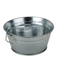 Galvanized Metal Appetizer Tub
