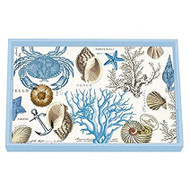 Seashore Vanity Decoupage Tray