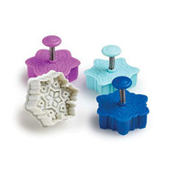 Snowflake Cookie & Pastry Stamps