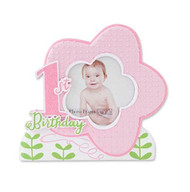 First Birthday Pink Picture Frame