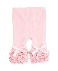 Baby Girls Light Pink Ruffle Legging