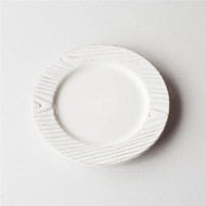 Woodgrain Salad Plates - Set of 4
