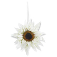 30 Inch White Sunflower