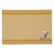 DII Garden Bunny Reversible Placemats - Set of 4