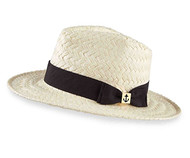 Mud Pie Summer Fashion Madison Straw Fedora Hat
