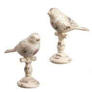 "5"" Bird on Stand - Set of 2"