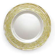 Gold Glass Plate Chargers - Set of 4