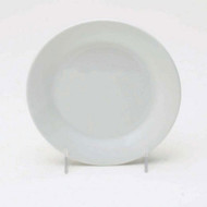 White Round Appetizer Plates - Set of 4