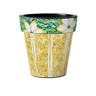 "Studio M Goldenrod 15"" Art Pot Planter"